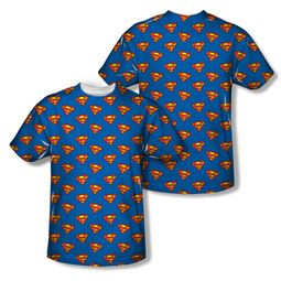 Superman Super All Over Sublimation Shirt Front/Back Print