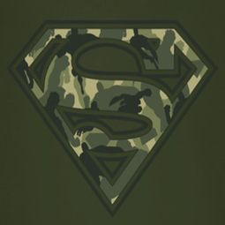 Superman Super Camo Shield Shirts