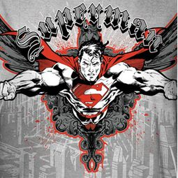 Superman Take Wing Sublimation Shirts