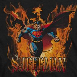 Superman Through The Fire Shirts
