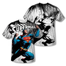 Superman To Infinity Sublimation Shirt Front/Back Print