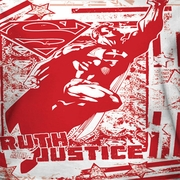 Superman Truth And Justice All Over Sublimation Shirts