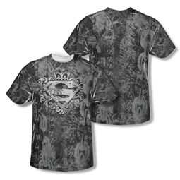 Superman Unchain The King Sublimation Shirt Front/Back Print