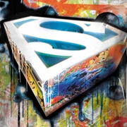 Superman Urban Shields Sublimation Shirts