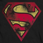 Superman War Torn Shield Shirts