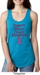 Support Breast Cancer Awareness Ladies Ideal Racerback