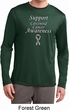 Support Carcinoid Cancer Awareness Dry Wicking Long Sleeve