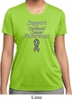 Support Carcinoid Cancer Awareness Ladies Dry Wicking T-shirt