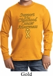 Support Childhood Cancer Awareness Kids Long Sleeve