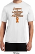 Support Leukemia Cancer Awareness Dry Wicking T-shirt