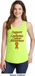 Support Leukemia Cancer Awareness Ladies Tank Top