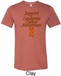 Support Leukemia Cancer Awareness Tri Blend Tee