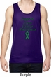 Support Liver Cancer Awareness Dry Wicking Tank Top