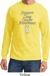Support Lung Cancer Awareness Long Sleeve