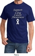 Support Lung Cancer Awareness T-shirt