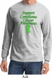 Support Lymphoma Cancer Awareness Long Sleeve