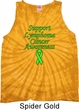 Support Lymphoma Cancer Awareness Tie Dye Tank Top