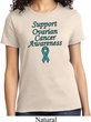 Support Ovarian Cancer Awareness Ladies T-shirt