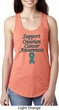 Support Ovarian Cancer Ladies Ideal Racerback