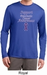 Support Pancreatic Cancer Awareness Dry Wicking Long Sleeve