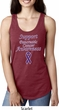 Support Pancreatic Cancer Awareness Ladies Ideal Racerback