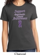 Support Pancreatic Cancer Awareness Ladies T-shirt