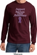 Support Pancreatic Cancer Awareness Long Sleeve