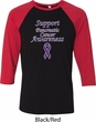 Support Pancreatic Cancer Awareness Raglan Shirt