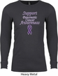 Support Pancreatic Cancer Awareness Thermal Shirt