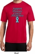 Support Prostate Cancer Awareness Dry Wicking T-shirt