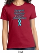 Support Prostate Cancer Awareness Ladies T-shirt