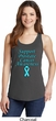 Support Prostate Cancer Awareness Ladies Tank Top