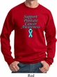Support Prostate Cancer Awareness Sweatshirt