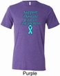 Support Prostate Cancer Awareness Tri Blend Tee