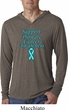 Support Prostate Cancer Lightweight Hoodie Tee
