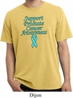 Support Prostate Cancer Pigment Dyed T-shirt