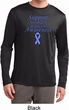Support Stomach Cancer Awareness Dry Wicking Long Sleeve