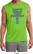 Support Stomach Cancer Awareness Dry Wicking Sleeveless Shirt