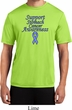 Support Stomach Cancer Awareness Dry Wicking T-shirt