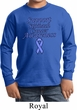 Support Stomach Cancer Awareness Kids Long Sleeve