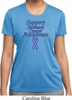 Support Stomach Cancer Awareness Ladies Dry Wicking T-shirt