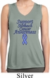 Support Stomach Cancer Awareness Ladies Dry Wicking Tank Top
