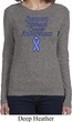 Support Stomach Cancer Awareness Ladies Long Sleeve