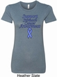 Support Stomach Cancer Awareness Ladies Longer Length Shirt