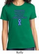 Support Stomach Cancer Awareness Ladies T-shirt