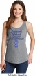 Support Stomach Cancer Awareness Ladies Tank Top