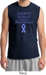Support Stomach Cancer Awareness Muscle Shirt