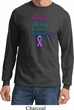 Support Thyroid Cancer Awareness Long Sleeve