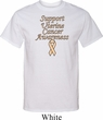 Support Uterine Cancer Awareness Tall T-shirt