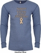 Support Uterine Cancer Awareness Thermal Shirt